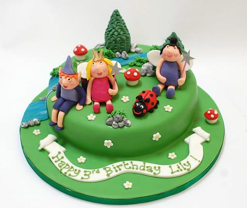 Ben Holly Birthday Cake
