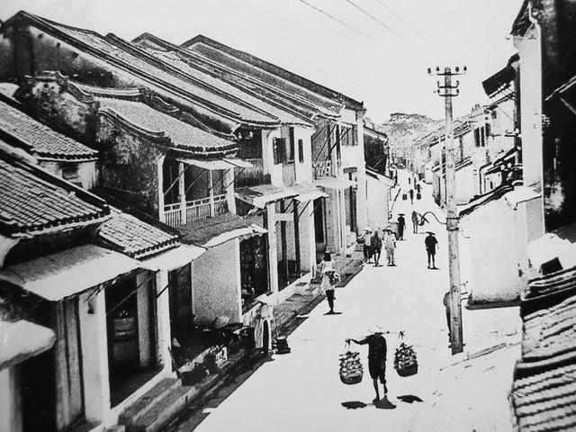 Hội An 1951 - Đường Quảng Đông, nay là Nguyễn Thái Học