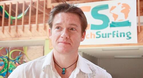 Casey Fenton of CouchSurfing.org