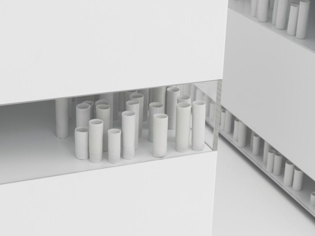 Edmund de Waal - A Thousand Hours - installation view at Alan Cristea Gallery 3