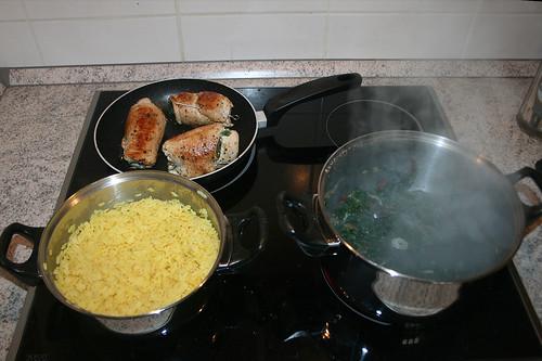 45 - fertig kochen / Cooking