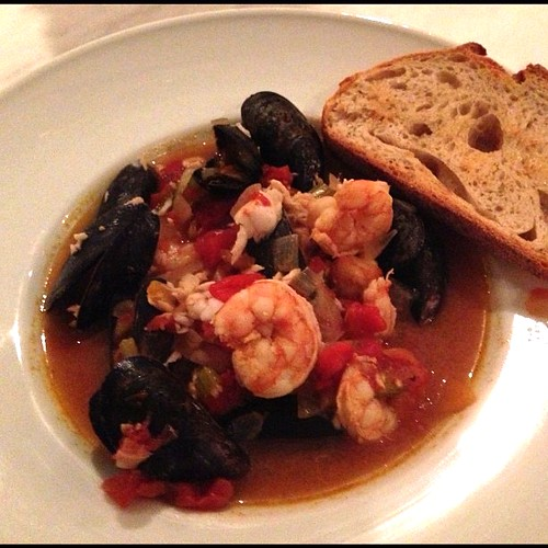 My first time making seafood cioppino stew!