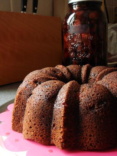 Rumtopf Bundt Cake