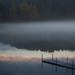 Dernier reflet de montagne... nuage sous quai... brume exquise... !!! by Denis Collette...!!!