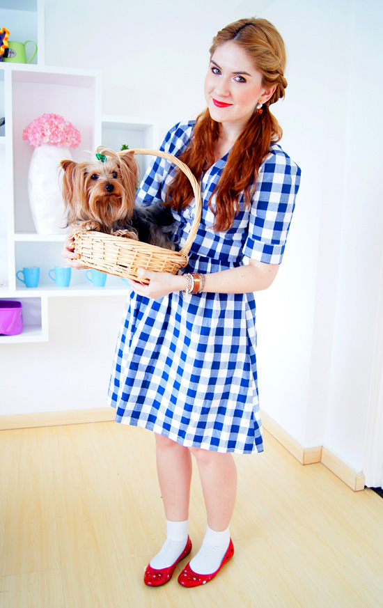 the joy of fashion diy halloween costume dorothy from