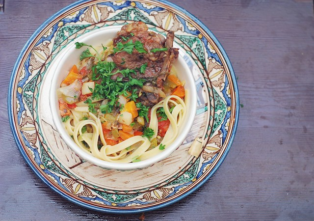 lagman lamb vegetable stew