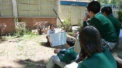 Mexico - Mexico City Public School - Class on Environmental Awareness - May 2012
