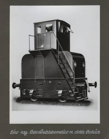 Koksloschlokomotive
