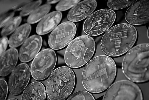 Half Dollars Coin Chair - Chatsworth by Melodysparks (Chris Preedy)