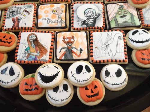 Geek Art Gallery: Sweets: Nightmare Before Christmas Cookies
