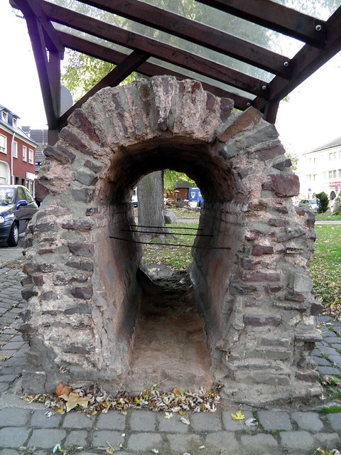 Remnants of the Eifel Aqueduct at Rheinbach, Germany