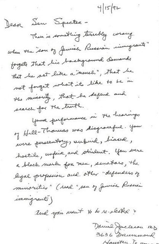 Spector letter response