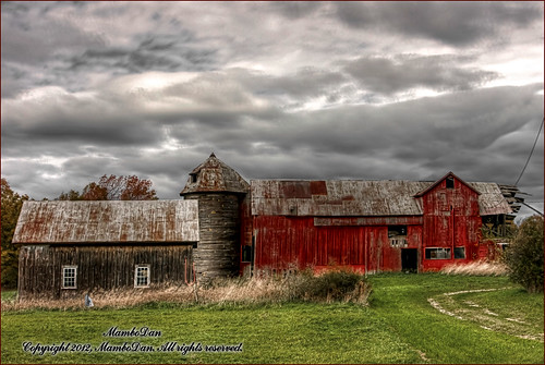 Farmland in Upstate New York