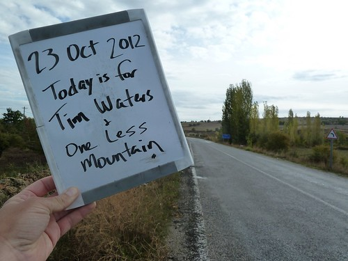 Today is for Tim Waters and One Less Mountain by mattkrause1969