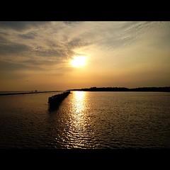#sunset #landscape #photooftheday #bangkok #sea #bangkokseaview