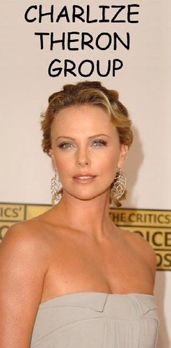 Charlize Theron Group-9 DEC 2008