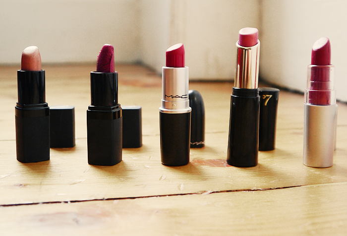 top 5 autumn lipsticks