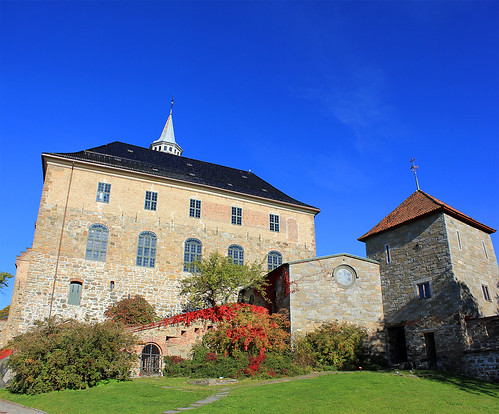 Akershus Fortress, Oslo, Norway by sjwmobile