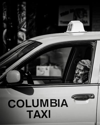 Columbia taxi 1 bw