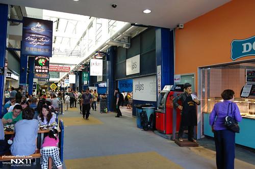 Sydney fish market interior