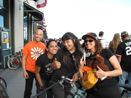SF Giants and Bike Valet Parking All The Way in 2012!