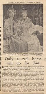 1965 01 01 Evening News Review of Aladdin