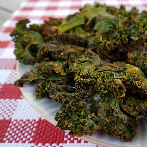 Kale Chips from Vegan Junk Food (0022)