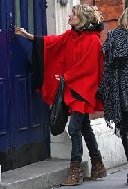 Sienna Miller Cape Coat Celebrity Style Women's Fashion