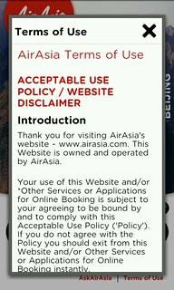 Aplikasi AirAsia di Android