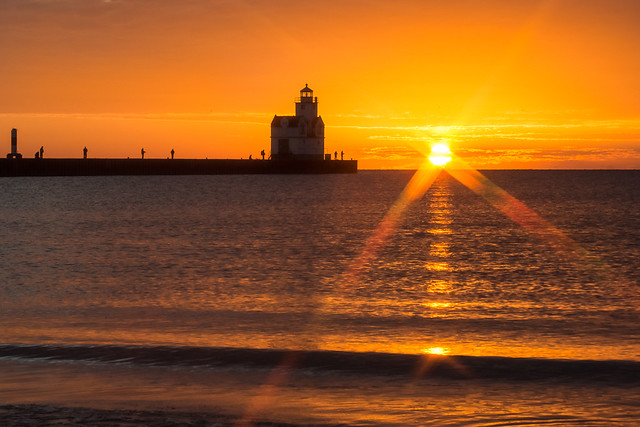 Power Point Lighthouse Sunrise
