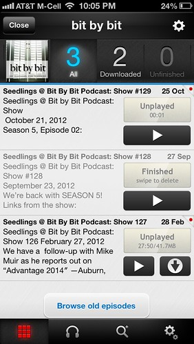 Bit by Bit Podcast on Pocket Casts