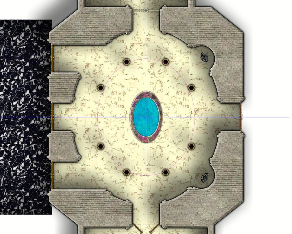 Die Zitadelle von Karalion - Renaissance Atrium