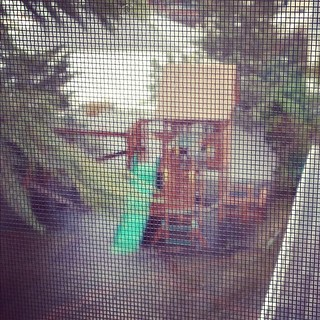 Water slide. #hurricanesandy