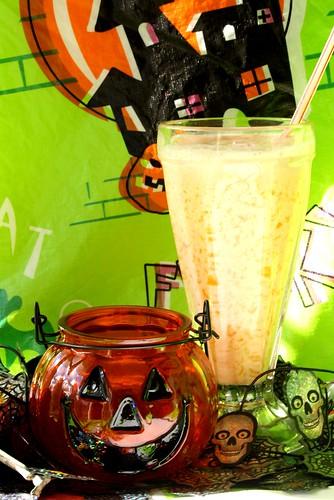 Halloween Candy Corn Drink