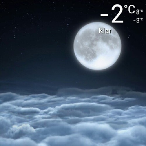 Day 29: moon: It's too cold to get outside and take a pic so here's the weather apps #moon #FMSphotoaday #fmsphotoadayoctober #weather #instadaily