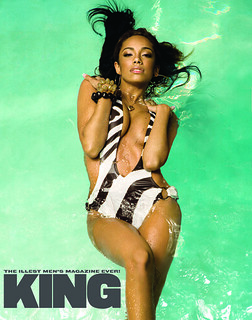 ERICA MENA KING MAGAZINE PICTURES . sexy erica mena from love and hiphop king photo spread