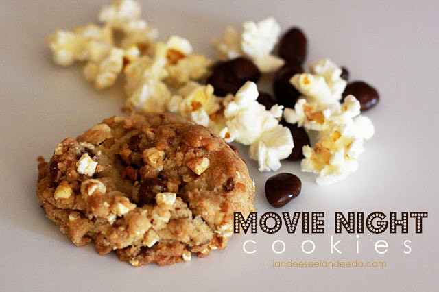 Movie Night Cookies