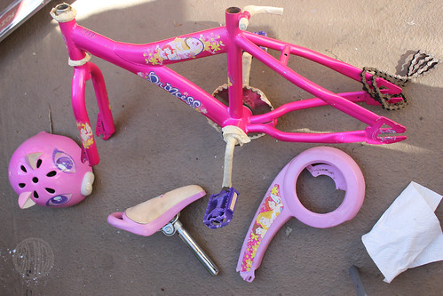 princess bike? no way!