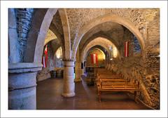 A l'intérieur du château de Vianden