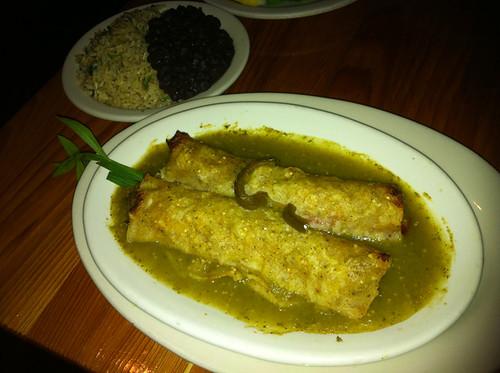Enchiladas Verdé