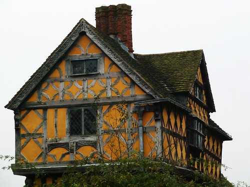 Gatehouse at Stokesay Castle, Shropshire