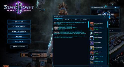 StarCraft 2 Clan Support