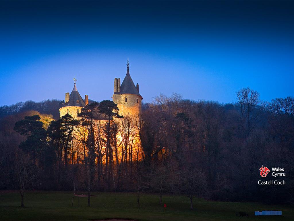 Visitare Castel Coch Galles