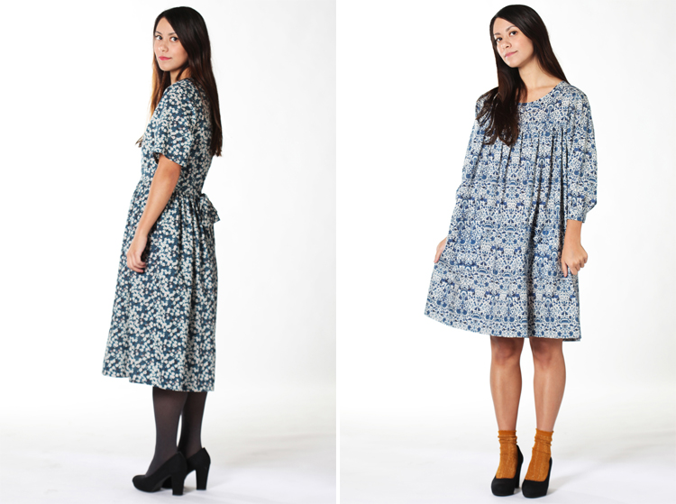 Blue Moon Rose Dress & Nocturne Dress