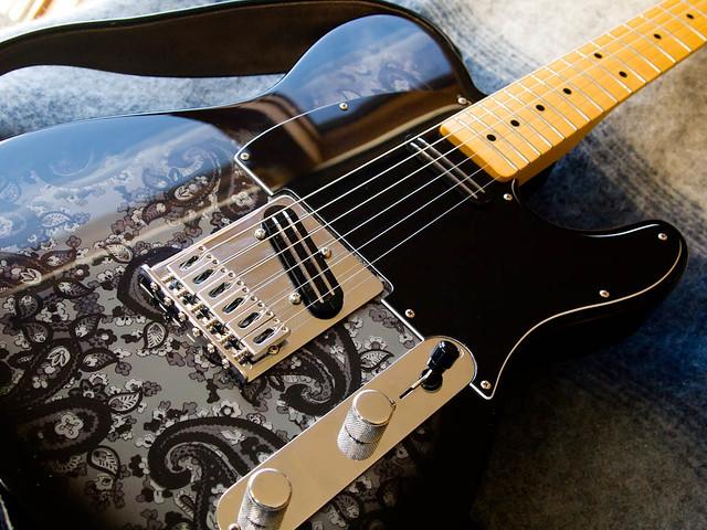 Fender Black Paisley Telecaster