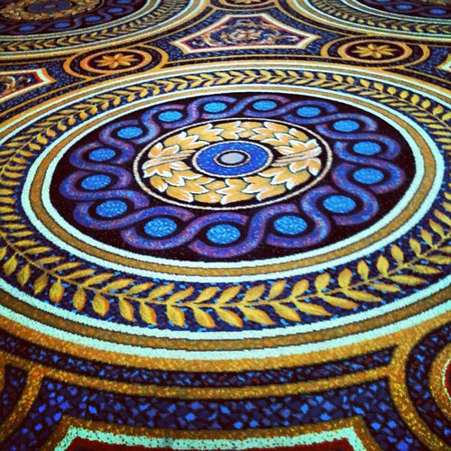 Trippy #casino carpet.