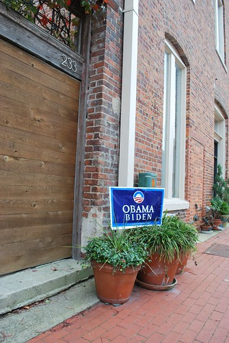 obama sign downtown fay