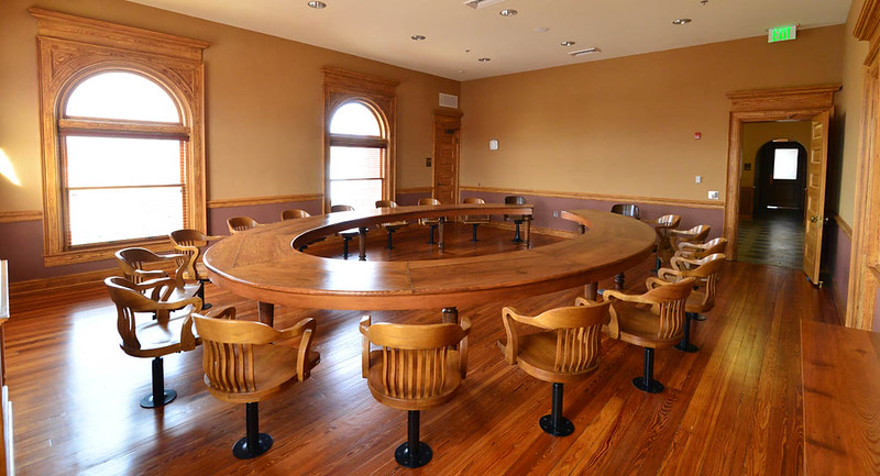 Coweta County Courthouse (old) Grand Jury Room