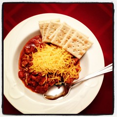 Chili is ready!