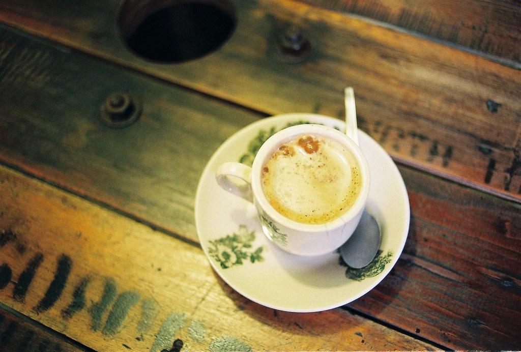 好喜歡在這間咖啡店和你一起度過的時光。